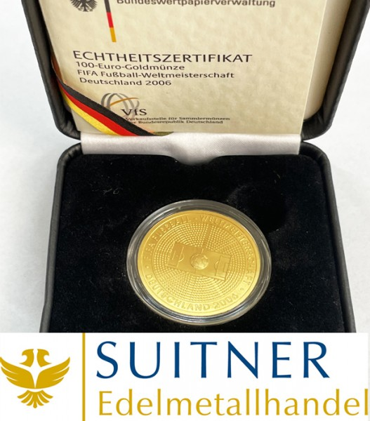 100 Euro Gold - FIFA WM 2006