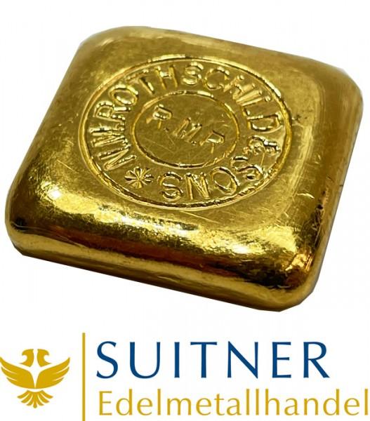 50 Gramm Goldbarren von Rothschild - sehr selten