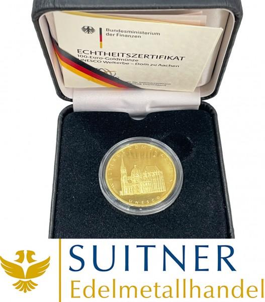 100 Euro Gold - Aachen 2012
