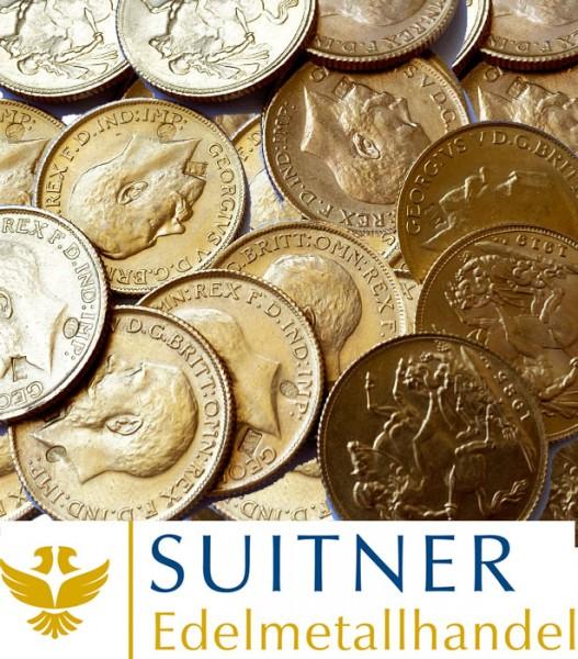 Ankauf 1 Sovereign Goldmünze