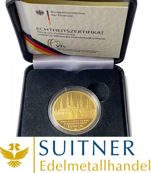 100 Euro Gold - Lübeck