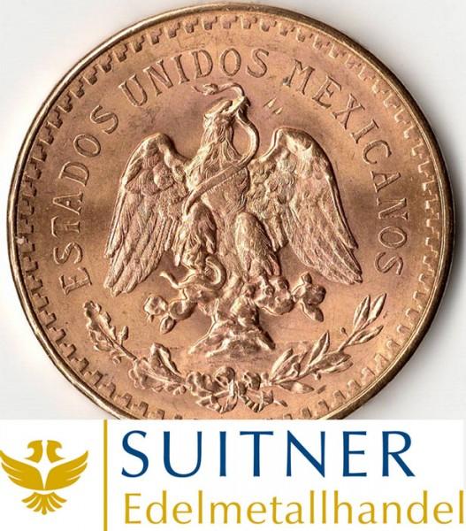 Goldmünze 50 Pesos Mexico Centenario