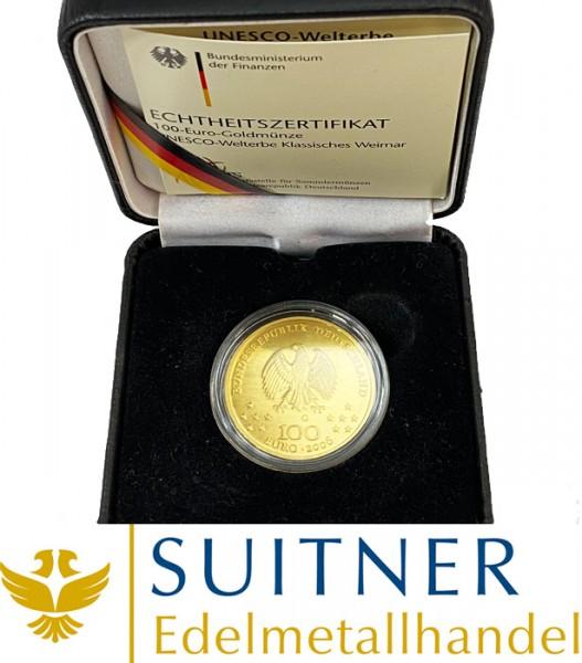 100 Euro Gold - Weimar 2006