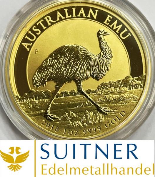 100 Dollars - Australien Emu - Gold 2018 - 1Oz Feingold