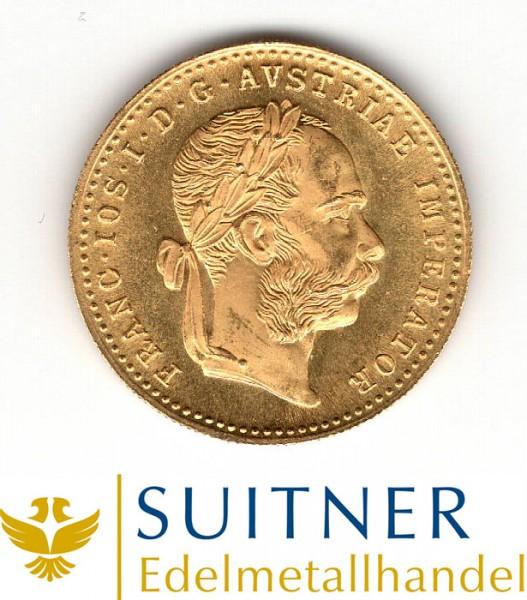 Ankauf 1 Dukaten 986 Gold - Österreich - 1915
