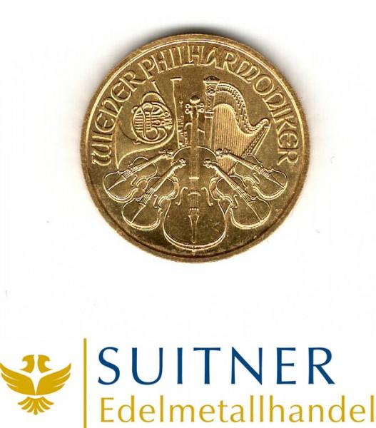 Ankauf 1 Unze Gold Wiener Philharmoniker