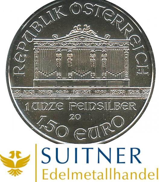 1 Oz Wiener Philharmoniker Silber