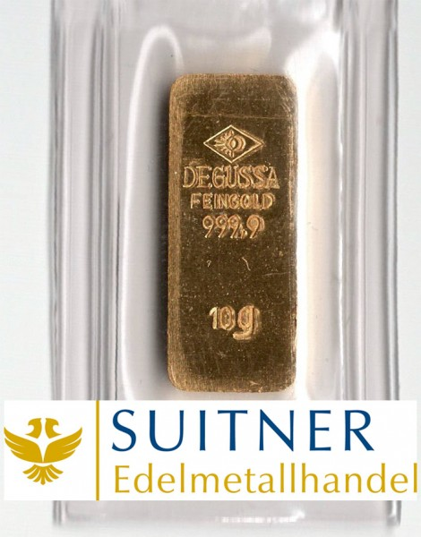 10 Gramm Goldbarren