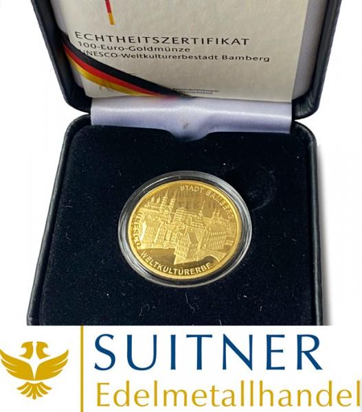 100 Euro Gold - Bamberg