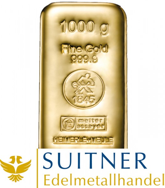 1000 Gramm Goldbarren
