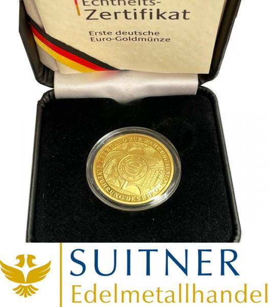 100 Euro Gold - Währungsunion 2002